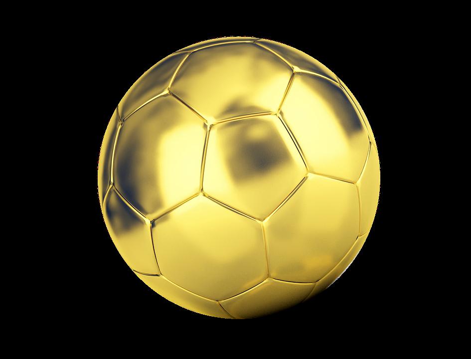 Bola Sepak Emas - Gambar gratis di Pixabay