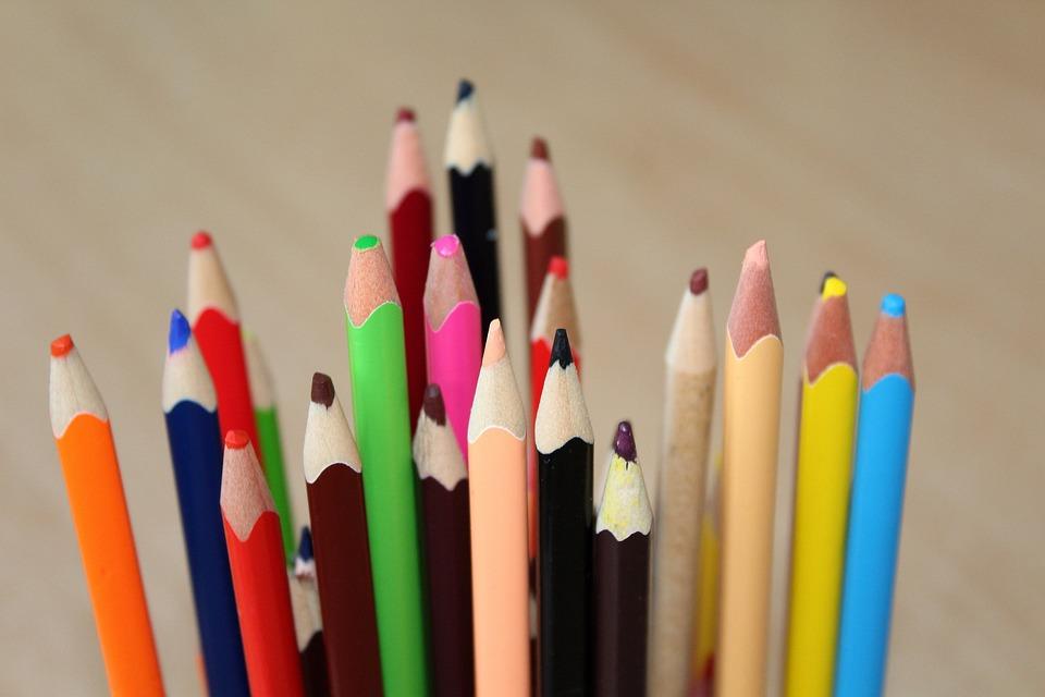 Buntstifte Färbung Kinder · Kostenloses Foto auf Pixabay