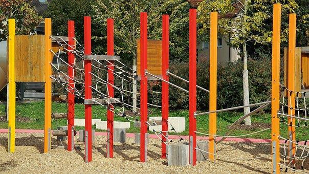 Playground, Play, Children, Adventure