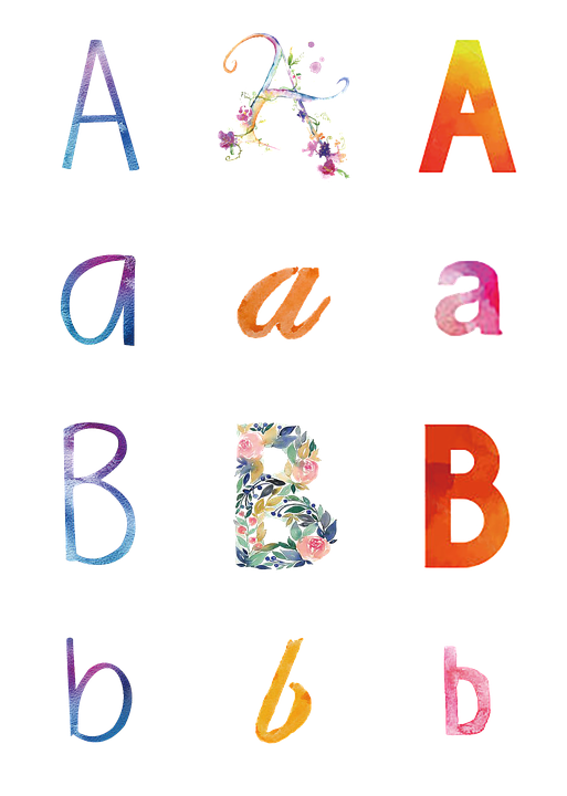 Alphabet Abc Design Free Image On Pixabay