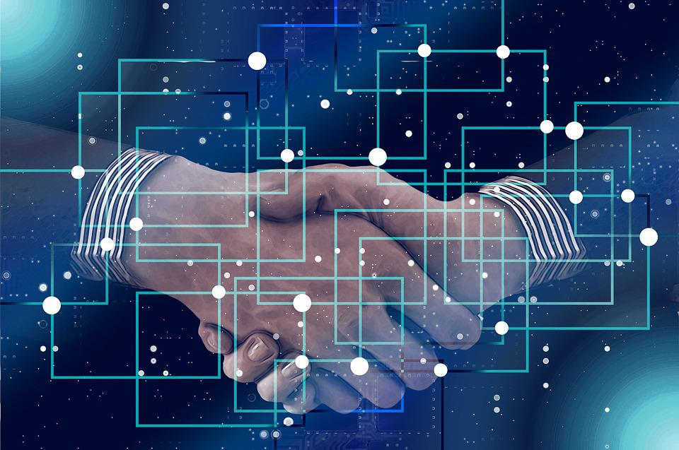 Block Chain Personal Shaking Hands  Free Photo On Pixabay-2116