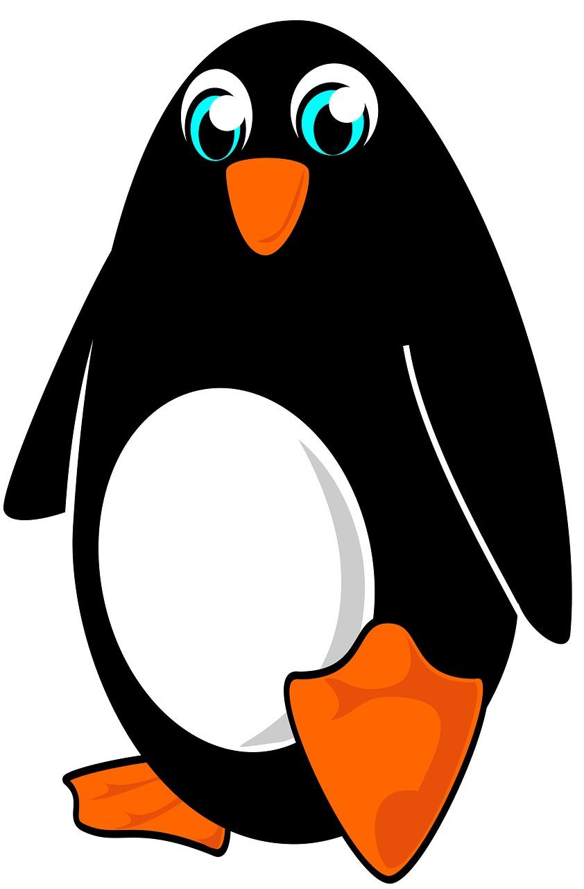 Картинка мультяшные пингвины