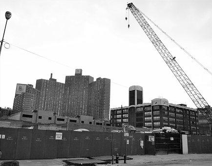 Construcion Site, Harlem, New York