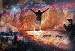 uplifting, space, trippy