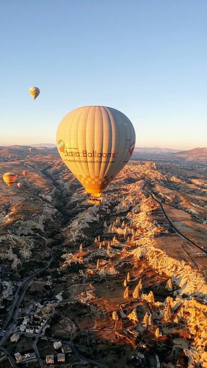montgolfiere kapadokya