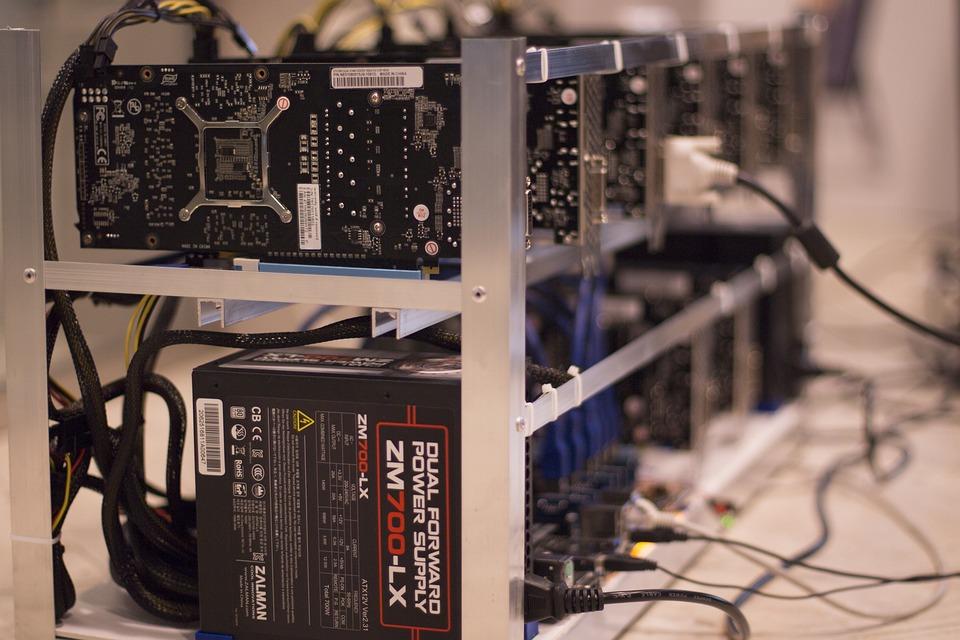 Cryptocurrency Mining Farm, The Ethereum, Market, Digital, Blockchain