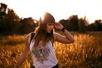model, sunset, photographer