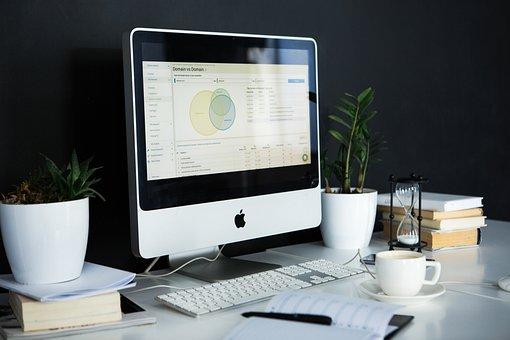 デスク, コンピュータ, ビジネス, オフィス, テーブル, 仕事
