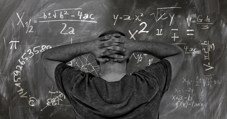ボード, 学校, 大学, 研究, 教育, 教授, 先生, 学生, 数学, 物理学, 数式, 慣性モーメント