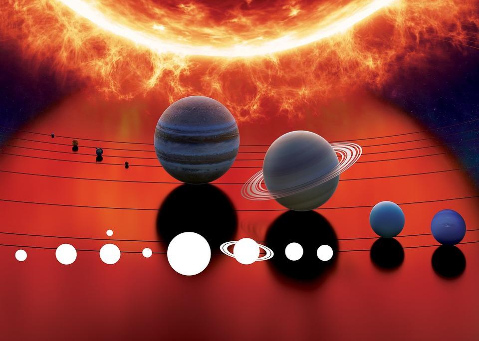 Los planetas del sistema solar visibles esta semana.