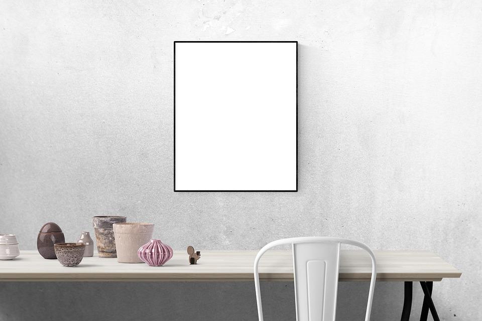 Office Kitchen Interior Design Wood Black White