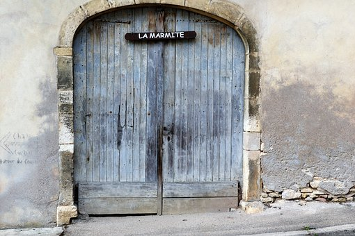 Garage, Door, Liverdun