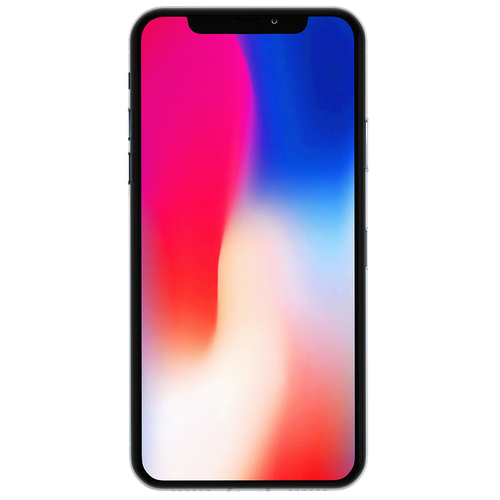 Iphone X Mock Up Mobil Anzeige Smartphone