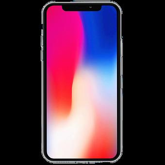 Iphone, Iphone X, モックアップ, モバイル, ディスプレイ