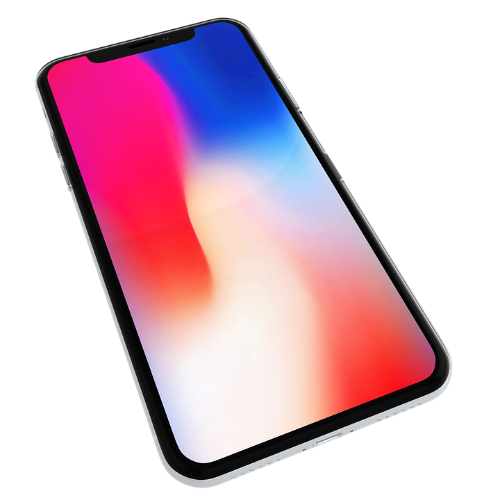 Iphone X Mockup Mobile Display Smartphone