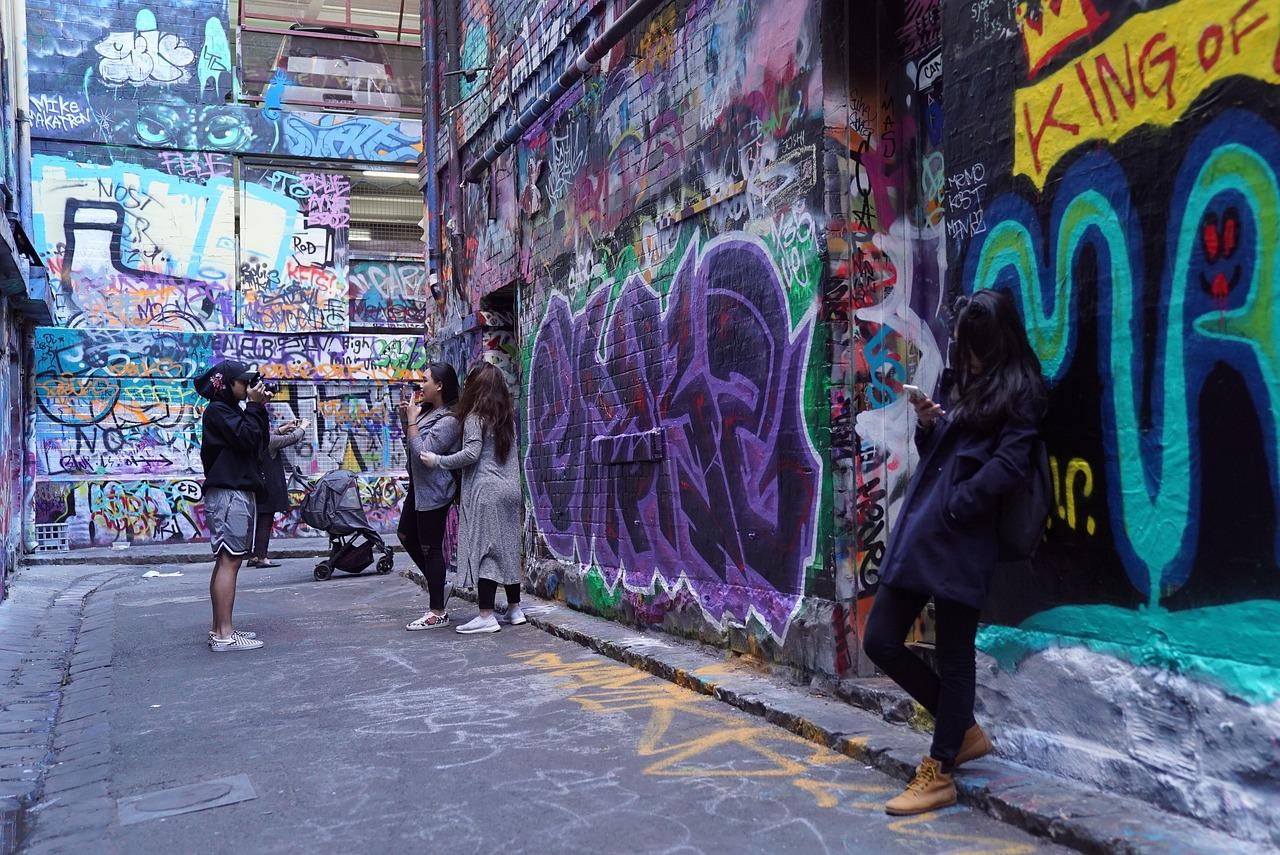 street art culture in Melbourne