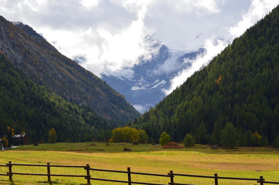Gran Paradiso, Cogne, Italia, Parco Naturale