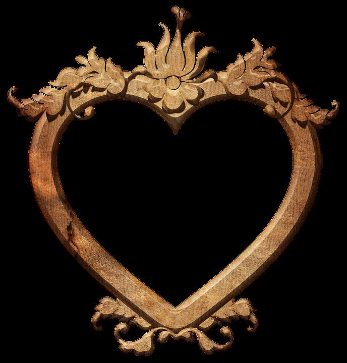 Frame Herz Rahmen · Kostenloses Foto auf Pixabay