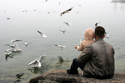 The Father Of The Child, Love, Lake