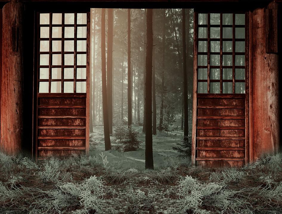 Winter Woods Door Season Outdoor Forest Cold & Free illustration: Winter Woods Door Season - Free Image on ... pezcame.com