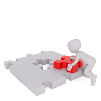 Puzzle, Letztes Teil, Teil, Puzzleteil