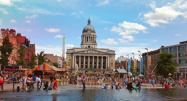 Nottingham, Ayuntamiento, Mercado