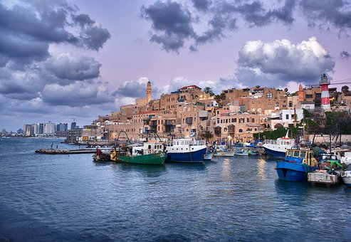 Jaffa, Hafen, Israel, Stadt, Meer
