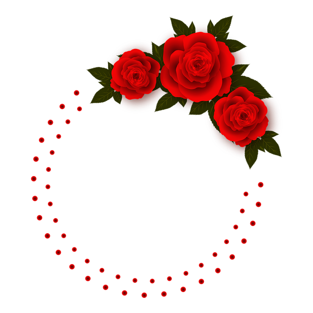 Frames Floral Em Png: Rose Flowers Frame Photo · Free Image On Pixabay
