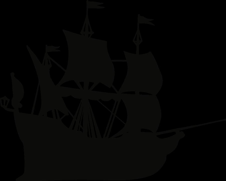 Gambar Vektor Kapal Laut