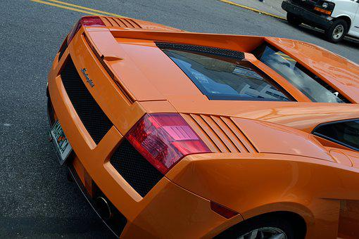 Lamborghini, Tail Light, Fast Car