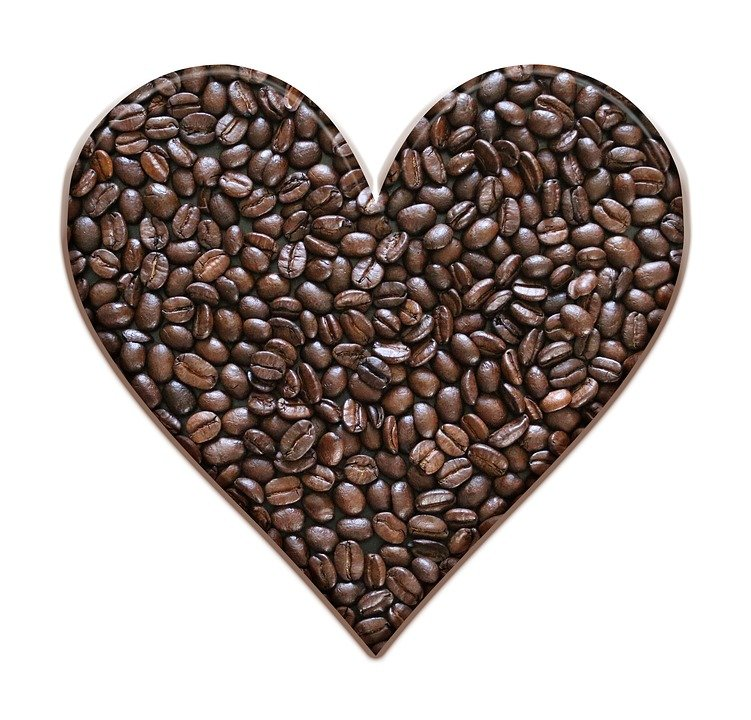 Coffee beans heart free photo on pixabay coffee beans heart coffee brown beans roasted voltagebd Images