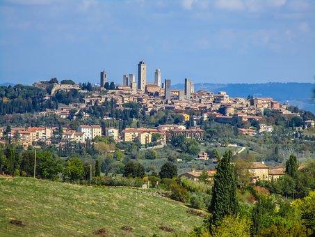 Toscanatipps: Skyline von San Gimignano