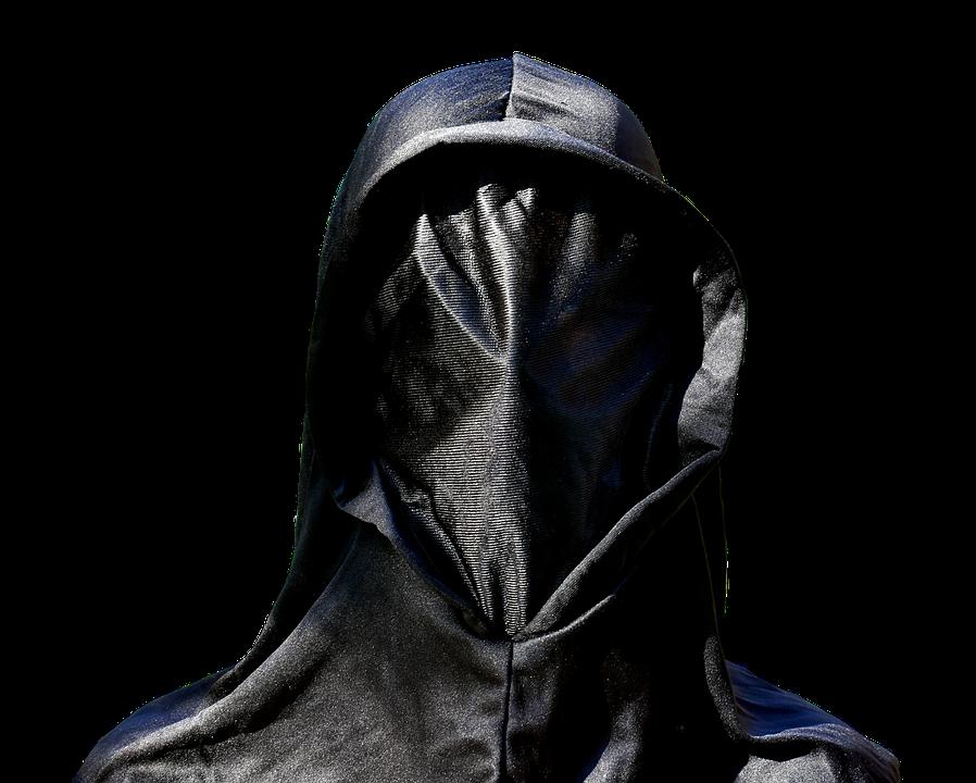 Masker, Zwart, Leeg, Anonieme, Mysterieuze, Maskerade