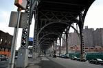 harlem, bridge, subway