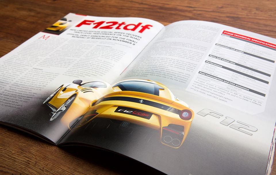 Car Magazine Print Free Photo On Pixabay