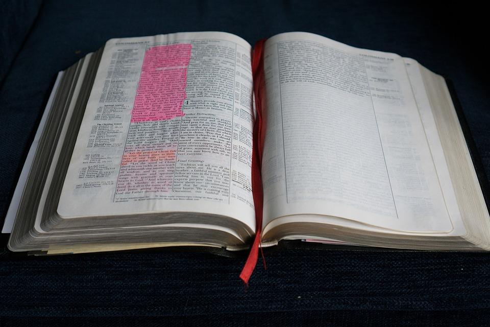 Biblia Abierta Libro Foto Gratis En Pixabay