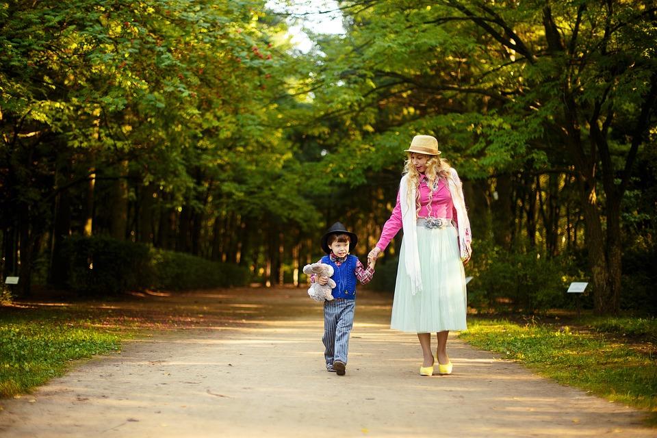 Парк Мама И Сын Семья - Бесплатное фото на Pixabay