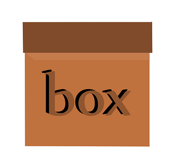Box, Carry, Gift, Order, Cardboard