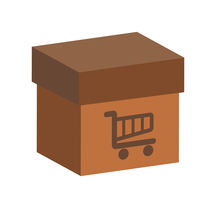 box shopping cart sale free vector graphic on pixabay