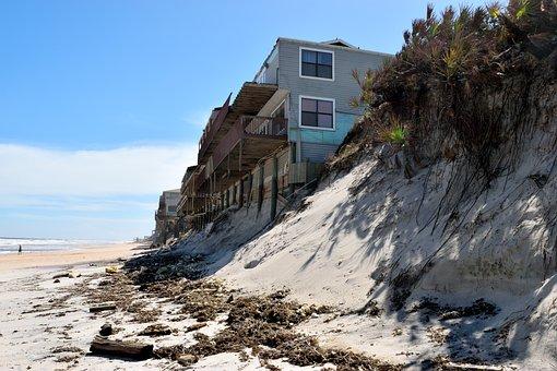 North Beach, Florida, Beach Erosion