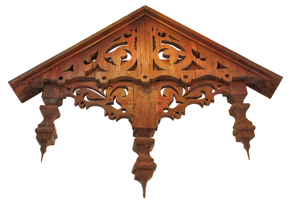 Canopy Old Wood Front Door Canopy Ornaments