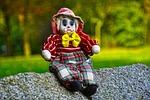 clown, puppet, doll