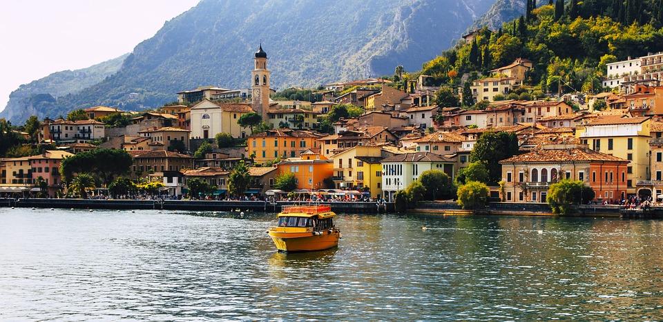 Limone, Gardasee, Urlaub, Italien, Brescia, Lombardei