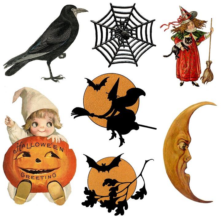 Halloween Ikonen Symbole · Kostenloses Bild auf Pixabay