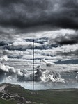 transmission tower, communication