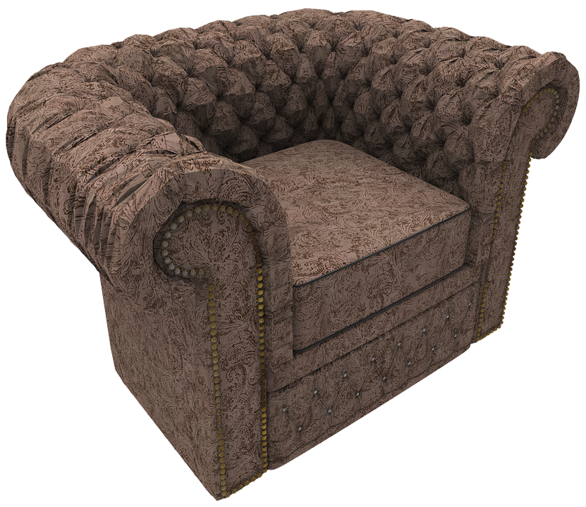sofa chair 3d render design furniture modern