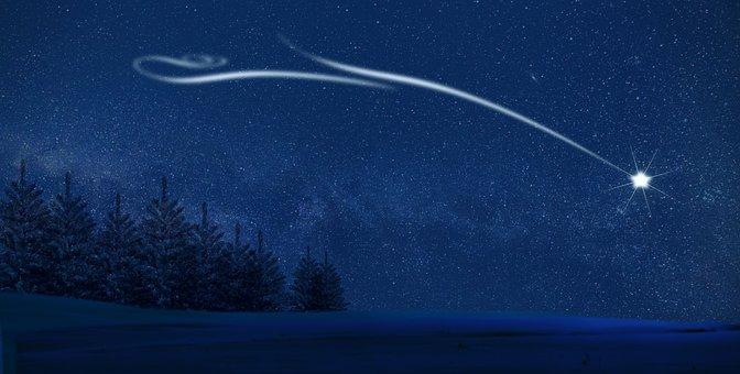 North Star, Stars, Night, Night Sky, Sky