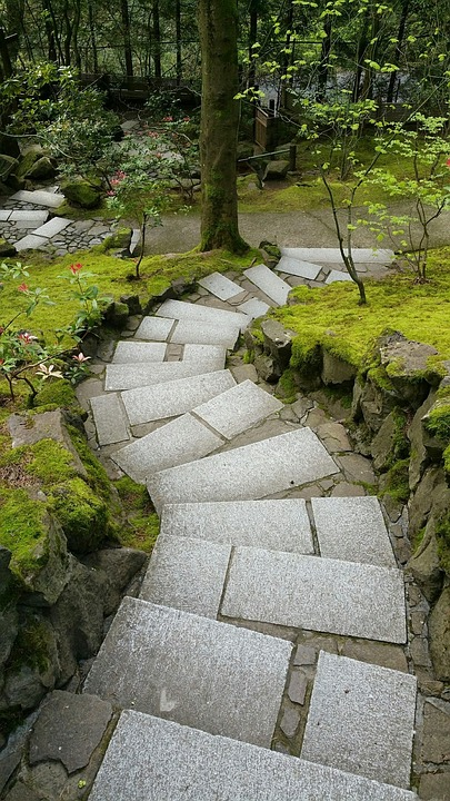 Chemin Jardin Japonais Portland Photo Gratuite Sur Pixabay