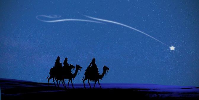 Christmas, Magi, Christmas Card