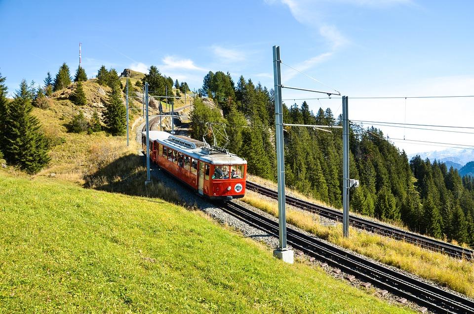 Rigi, Alm, Alp, Vitznau-Rigi Vasúti, Fogaskerekű Vasút